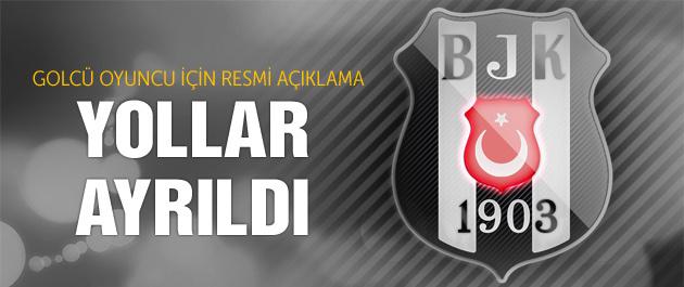 Beşiktaşlı oyuncu resmen ayrıldı