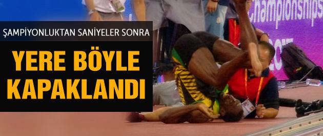 Usaint Bolt altın madalya kazandı