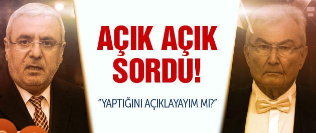 Mehmet Metiner Deniz Baykal'ı topa tuttu!