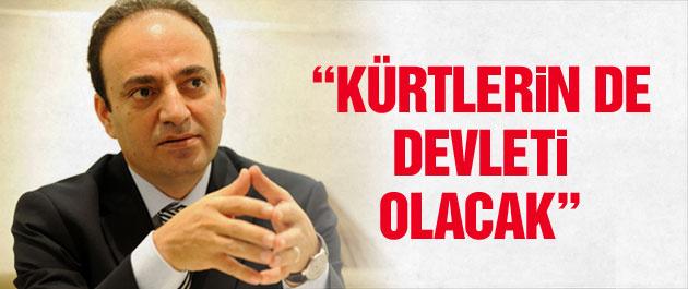 Osman Baydemir: Kürtlerin de devleti olacak