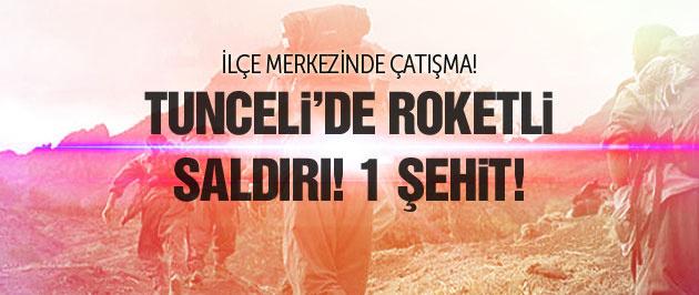 Tunceli'de polise roketli saldırı! Şehit ve yaralılar var...