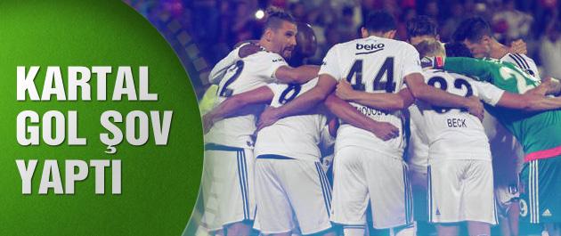 Beşiktaş Gaziantepspor'u gole boğdu