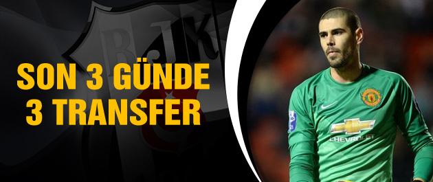 Beşiktaş 3 günde 3 transfer yapacak