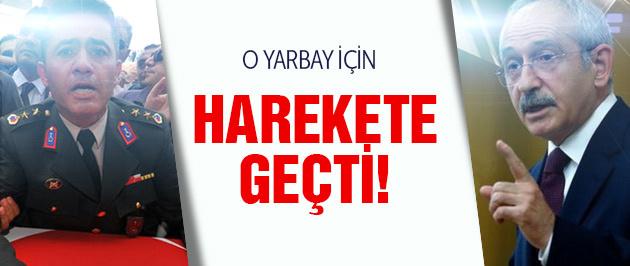 Kılıçdaroğlu Yarbay Mehmet Alkan için düğmeye bastı!