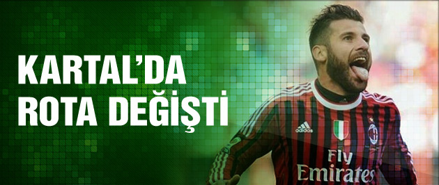 Beşiktaş'ta transfer rotası değişti