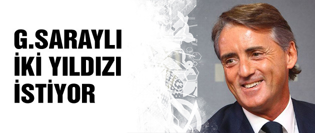 Mancini'den Galatasaraylılar'a kanca