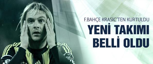 Fenerbahçe Krasic'ten kurtuluyor