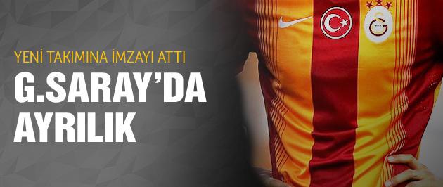 Galatasaray'da ayrılık! İmzayı attı