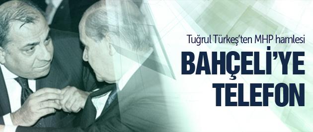 Tuğrul Türkeş'den Bahçeli'ye telefon