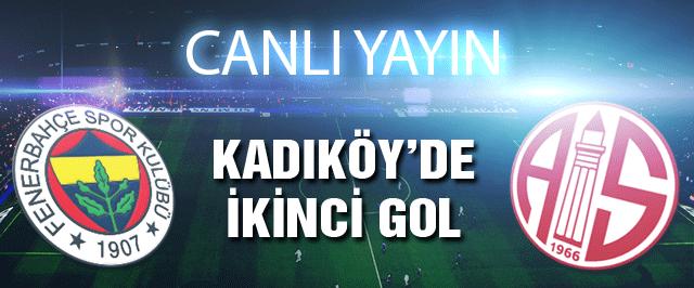 Fenerbahçe Antalyaspor maçının canlı yayını
