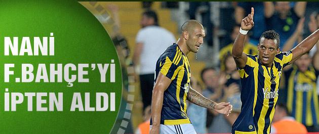 Fenerbahçe Antalyaspor'u 2-1'lik skorla yendi
