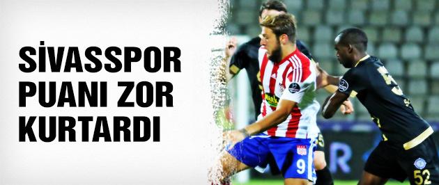 Sivasspor 1 puanı kurtardı