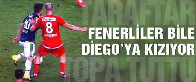 Fenerbahçeliler'in Diego isyanı