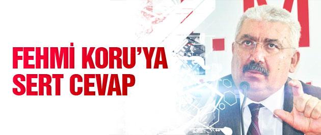 MHP'den Fehmi Koru'ya çok sert cevap!