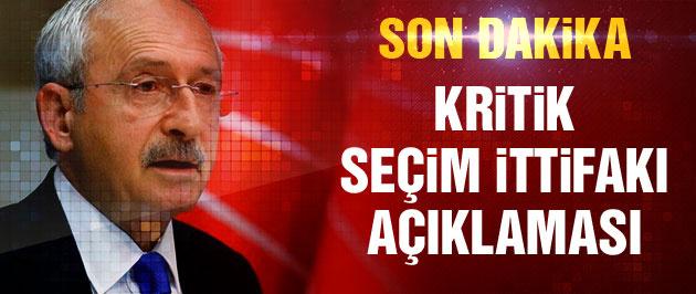Kılıçdaroğlu'ndan 'erken seçimde ittifak' açıklaması