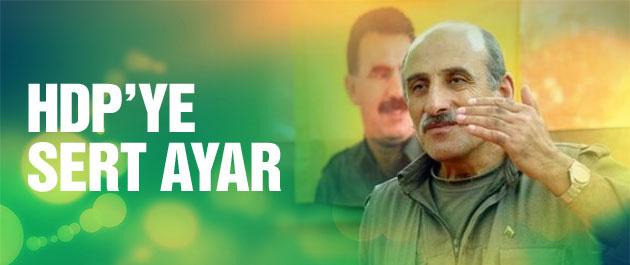 Duran Kalkan'dan HDP'ye AK Parti eleştirisi