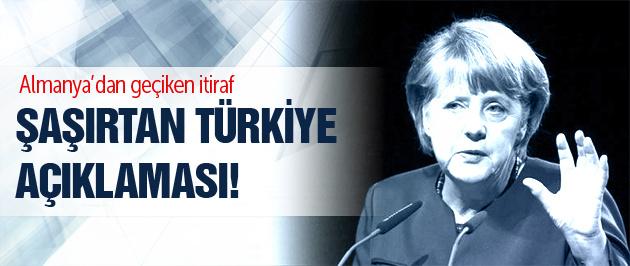 Merkel: PKK ile barış süreci devam etmeli!