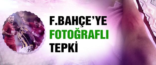 Fenerbahçe'ye fotoğraflı tepki!