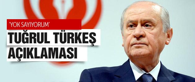Devlet Bahçeli'den flaş seçim ve Tuğrul Türkeş açıklaması