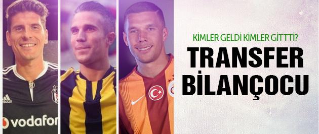 4 büyüklerin transfer savaşının bilançosu!