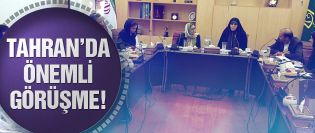 Fatma Şahin, İran Cumhurbaşkanı Yardımcısı ile görüştü!