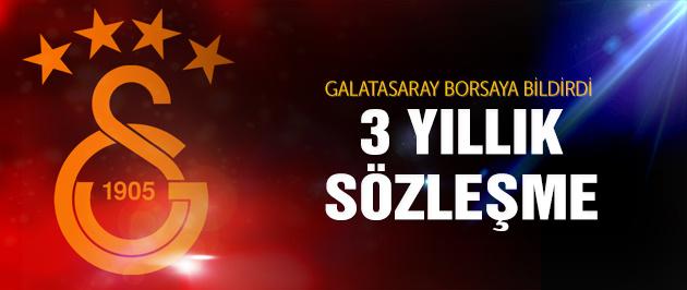 Galatasaray transferi borsaya bildirdi!