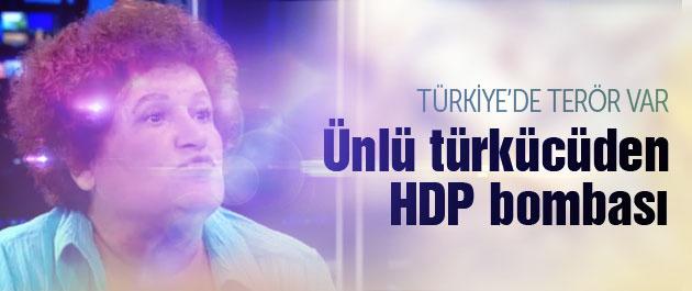 Ünlü türkücüden HDP bombası : HDP PKK ile...