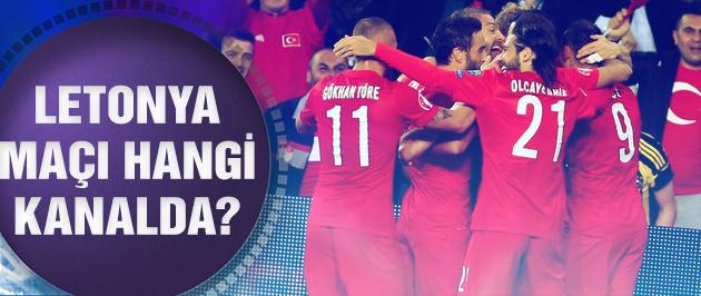 Türkiye Letonya maçı hangi kanalda?