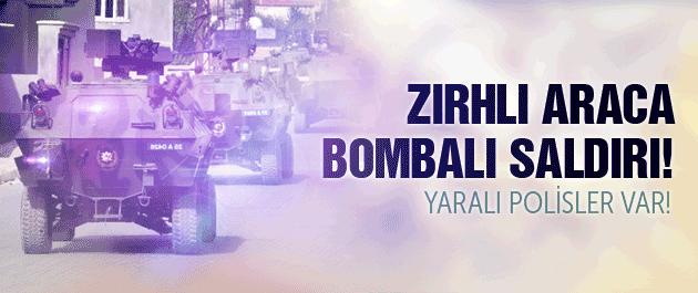 Mardin'de bombalı saldırı! Yaralı polisler var...