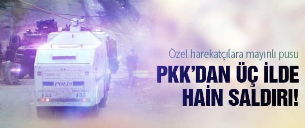 PKK'dan Mardin ve Hakkari'de hain tuzak!