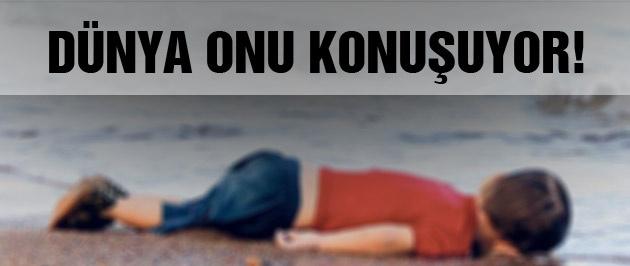 Kıyıya vuran Suriyeli çocuk dünya gündeminde!