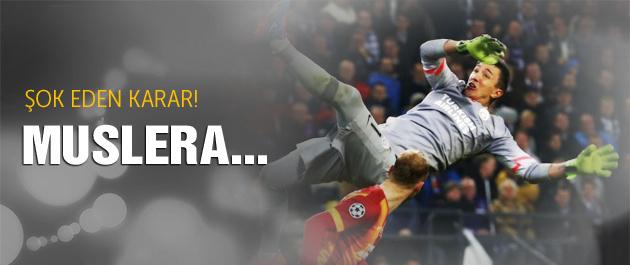 Galatasaray'dan şok karar! Muslera...