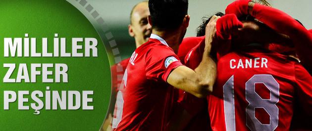 Türkiye Letonya maçının canlı yayını
