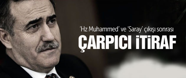 İhsan Özkes'ten 'Saray' ve 'Hz Muhammed' itirafı