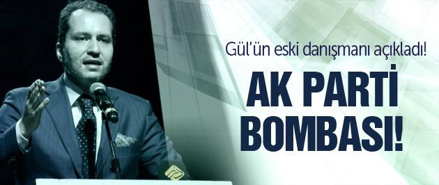 Gül'ün eski danışmanından bomba AK Parti iddiası!