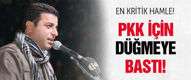 HDP PKK için düğmeye basıyor! Kritik hamle