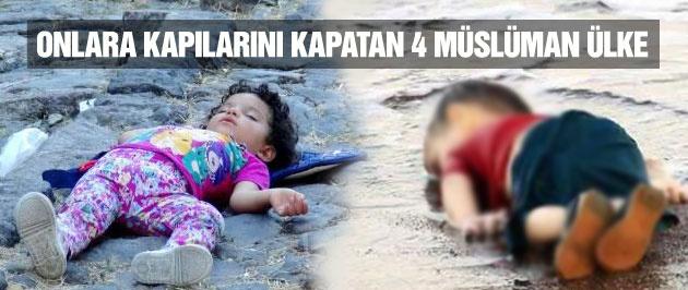Suriyelileri kabul etmeyen 4 müslüman ülke
