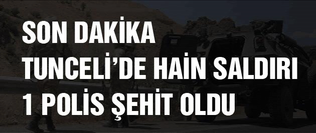 Tunceli ve Şırnak'ta PKK saldırısı kahreden şehit haberi