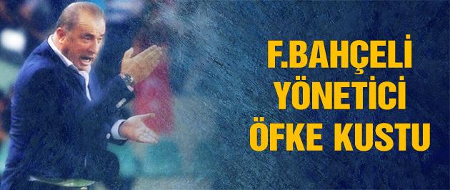 Fenerbahçeli yönetici Terim'e öfke kustu