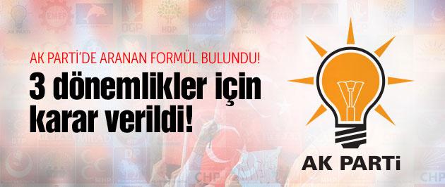 AK Parti'den 3 dönemlikler için flaş adım!