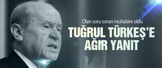 Bahçeli'den Tuğrul Türkeş'e ağır yanıt