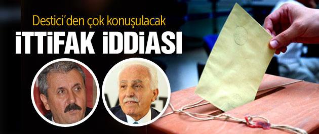 BBP lideri Destici'den SP ve AK Parti ittifakı iddiası