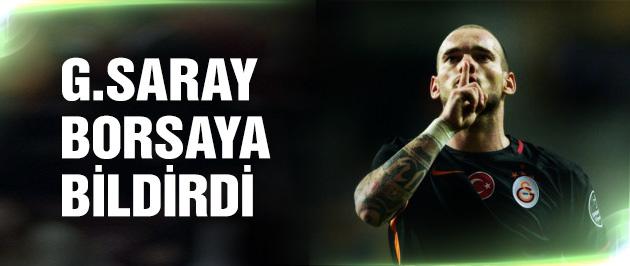 Galatasaray Sneijder'i resmen açıkladı!