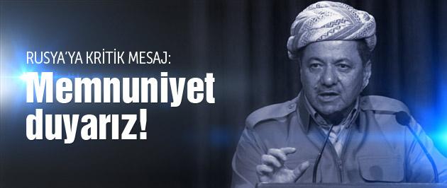 Barzani'den Rusya'ya flaş mesaj!