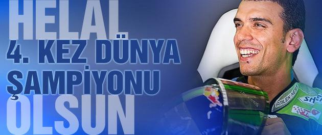 Kenan Sofuoğlu Dünya Şampiyonu