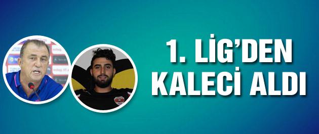 Milli Takım'a 1. Lig'den kaleci...