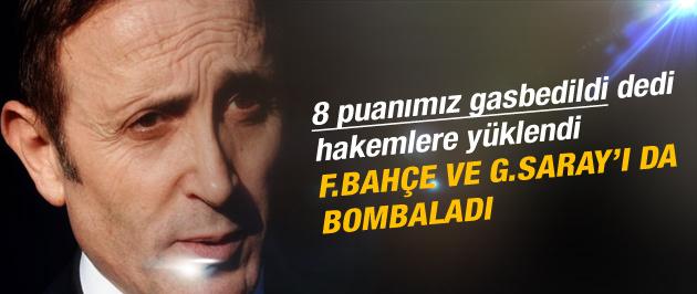 Trabzonspor'da hakem isyanı! 8 puanımız gasbedildi...
