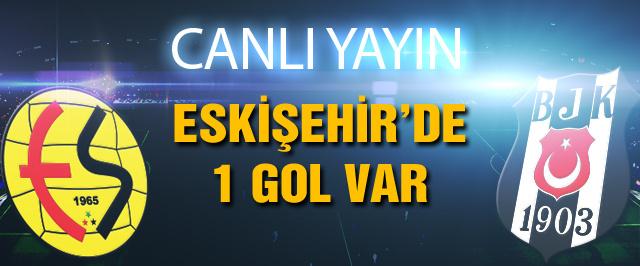 Beşiktaş Eskişehirspor maçı canlı yayın