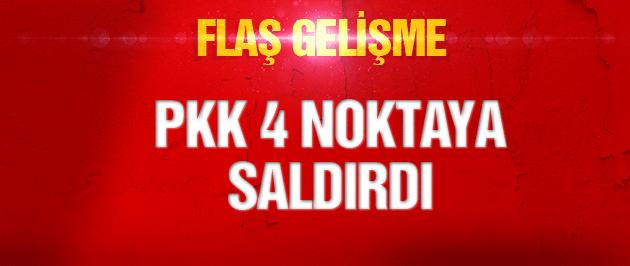 Şemdinli'de polis ve askere saldırı!