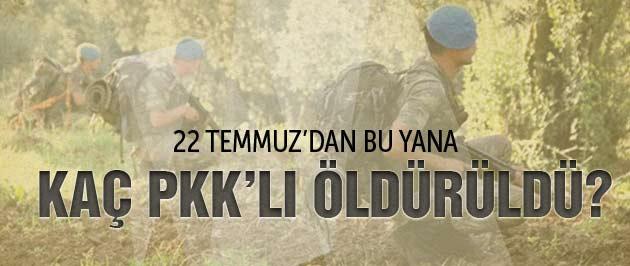 Kaç PKK'lı öldürüldü İçişleri Bakanı açıkladı